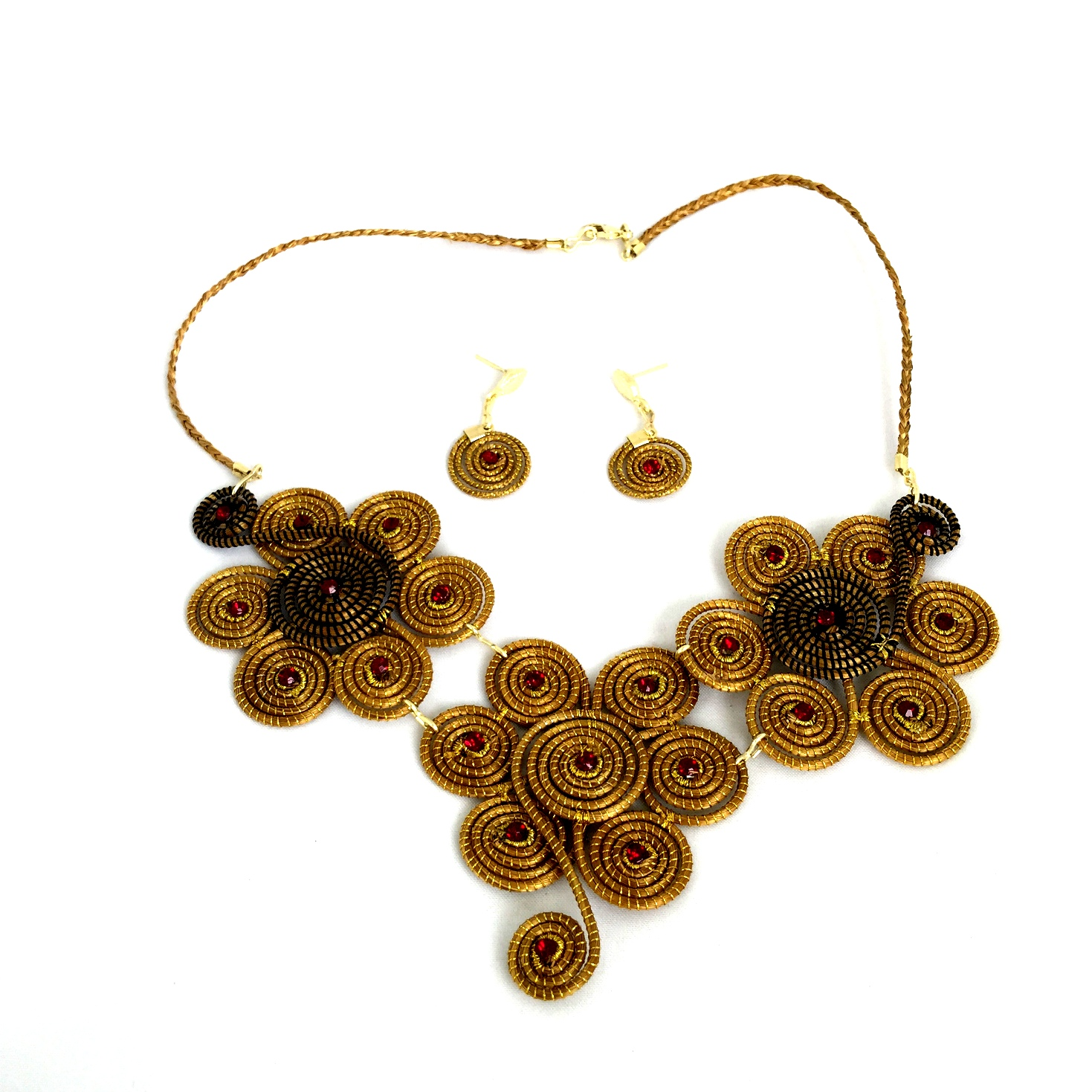 Necklace and Earring Set - Triple(CDP)