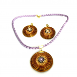 Necklace and Earring Set - P (CDP)