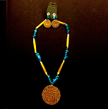 Necklace and Earring Set - Blue Stones(CDJ)