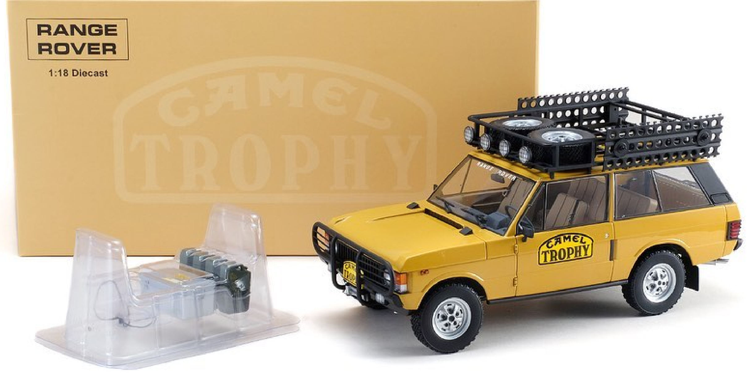 "Range Rover ""Camel Trophy"" Papua New Guinea - 1982 1/18"