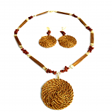 Necklace and Earrings Set - Mandala (RI)