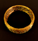 Bracelet - golden threads - CDJ