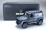 Brabus 550 Adventure Mercedes-Benz G 500 4×4² - 2017 - Metallic Grey 1/18